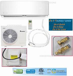 Manual And Guide For 12000 Btu Klimaire 17 5 Seer Ductless