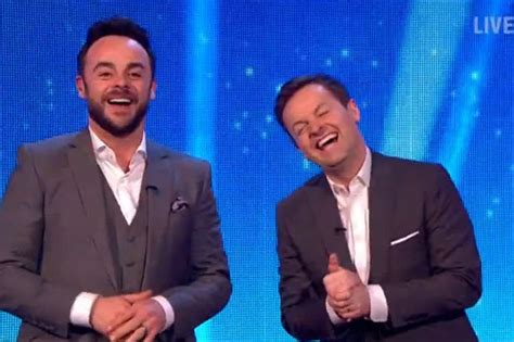 ant  dec  war  holly willoughbys  blame