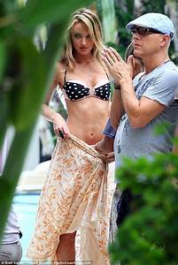Candice Swanepoel smoulders on her final shoot for ...