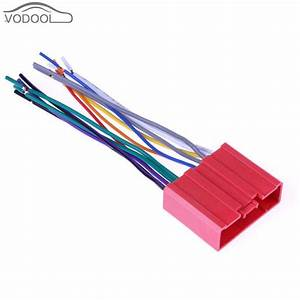 13cm Car Stereo Cd Player Radio Wiring Harness Cable Adapter Female Plug For Mazada 2 3 5 6 Cx 7