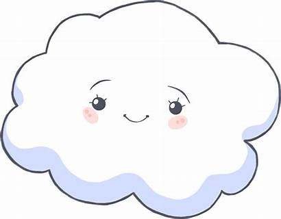 Cloud Clouds Clipart Cloudy Face Clip Children