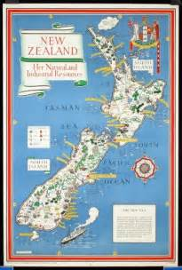 New Zealand Geography Map