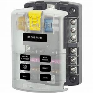 6 Circuit Fuse Block