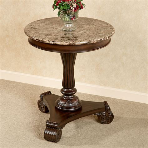 round marble table top killian marble top round accent table