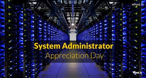 happy system administrator appreciation day