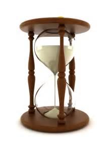 Transparent Hourglass