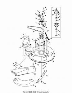 Mtd 13a326jc700  2014  Parts Diagram For Mower Deck