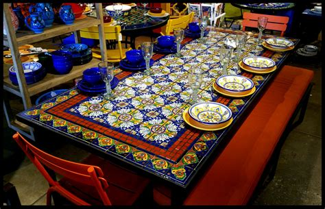 Mosaic Tile Outdoor Table by Furthur Wholesale Mosaic Dining Tables