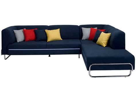 canapé bleu conforama canapé d 39 angle droit 4 places