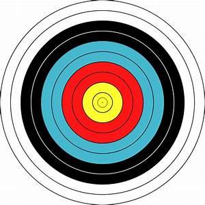 10x Target Faces Fita 40 cm