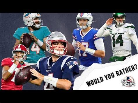 Which AFC East Quarterback Would You Rather Have ...