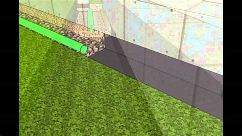 install  french drain youtube