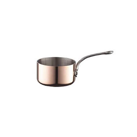 cm copper tri ply mini pan  pots  pans  lakeland