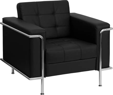 1pc modern leather office reception sofa chair ff 0451 12