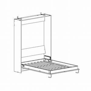 Mécanisme Lit Escamotable : kit m canisme lit double vertical wbs distribution europe ~ Farleysfitness.com Idées de Décoration