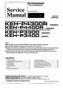 Pioneer Keh-p4300r X1m  Ew