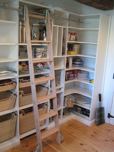 pantry  ladder     space   walk