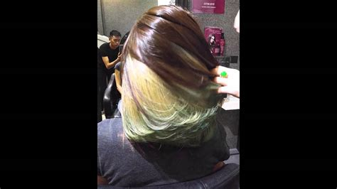 Mocha Brown & Green Ash By Ugly Duckling Professional Hair