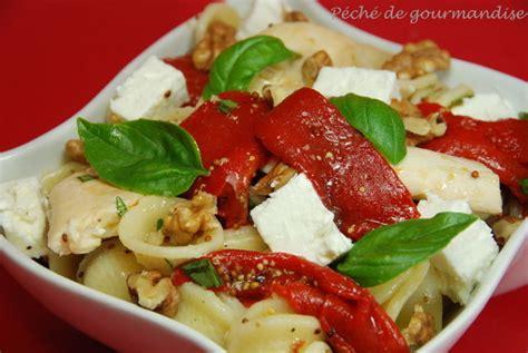 salade de p 226 tes au poulet piquillos feta et noix p 233 ch 233