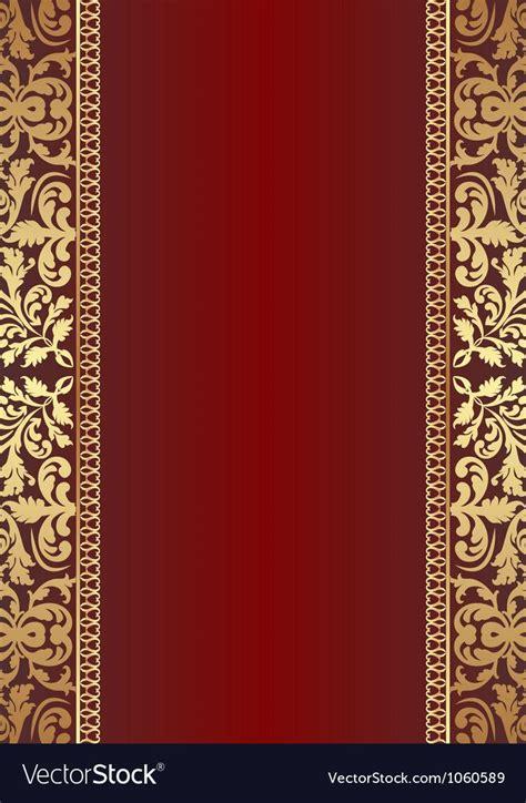 dark red background vector image  red background