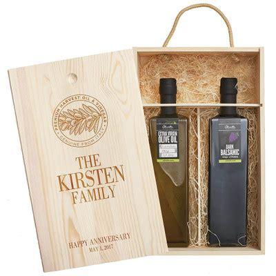 olive oil balsamic vinegar  italy personalized gift