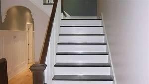 Repeindre Escalier En Bois : 2 techniques faciles pour repeindre un escalier en bois ~ Dailycaller-alerts.com Idées de Décoration