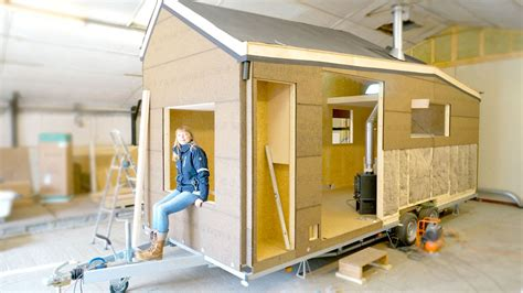 Building A Modern Tiny House For Off-the-grid Living (eco