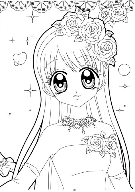 Perfect Anime Coloring Book 30 2217 Printable Free