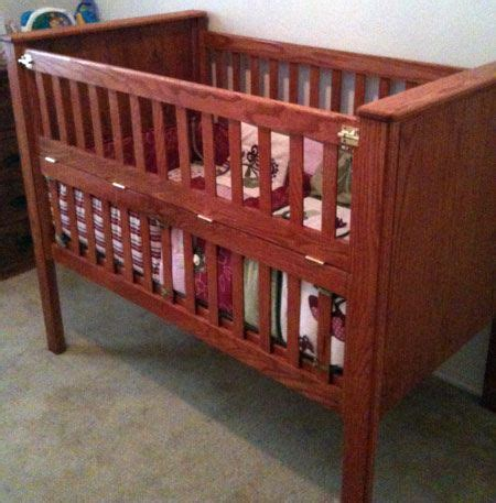build  crib part  toolmonger baby crib diy