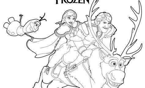 Frozen Sven Coloring Pages Eskayalitim