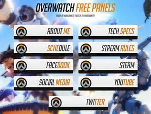 Overwatch Twitch Panels