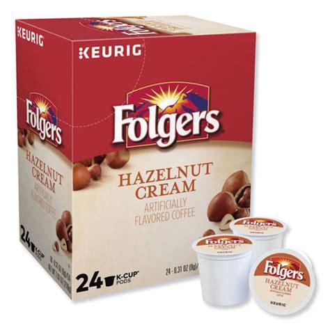 Shop for folgers decaf k cups online at target. Keurig® Folgers Hazelnut Cream Coffee K-Cups | 24/Box | GMT0162 | ReStockIt.com