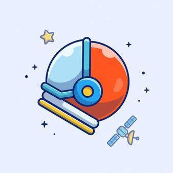 leuke pictogrammen ruimte gratis vector