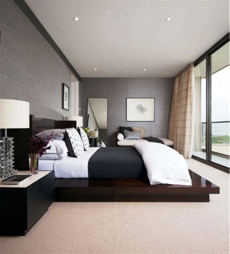 smart  minimalist modern master bedroom design