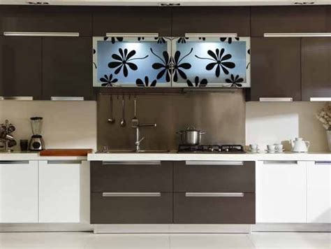 Permalink to Lacquered Glass Kitchen Cabinets