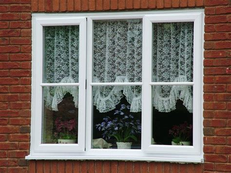 cute white windows  net curtains  majestic designs atmajestic designs double glazed open