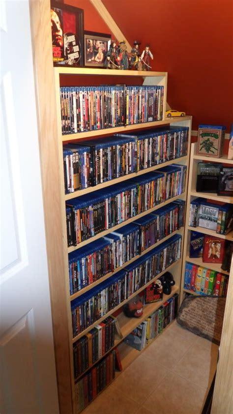 Dvd Closet Storage by 78 Ideas About Dvd Storage On