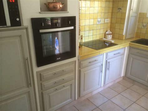 repeindre cuisine en chene enchanteur comment moderniser une cuisine en chene et