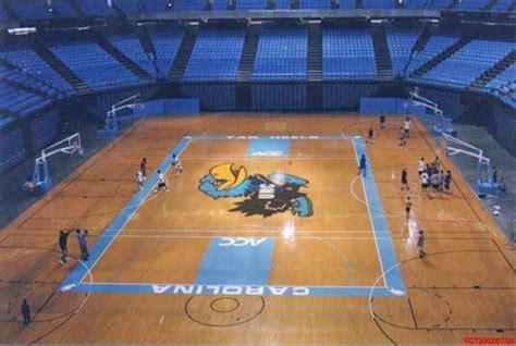 photo carolina tar hawks basketball court tar heel times
