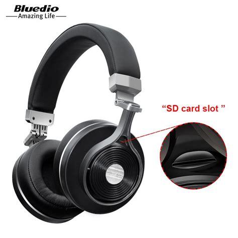 bluetooth headset testsieger 2017 2017 real earphone bluedio t3 t3 plus original bluetooth headphones wireless headset with sd