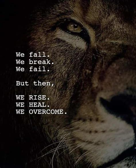 Lions & Motivational Quotes