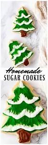 Homemade Sugar Cookies Christmas Tree With Homemade Icing
