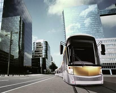 Bus Wallpapers Hp Laptop Modern Tram Future