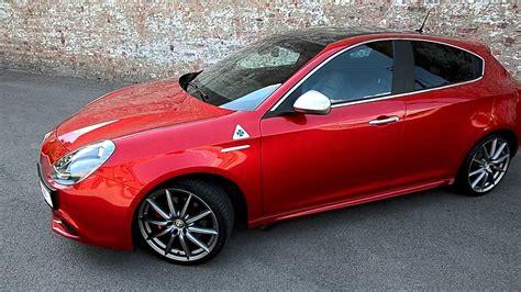 Alfa Romeo Giulietta Qv 8c Red