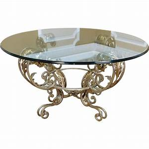 contemporary silver chrome colored metal base glass top 42 With silver chrome coffee table