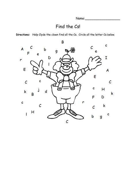 16 Best Images Of Letter Recognition Worksheets  Preschool Letter Recognition Worksheets