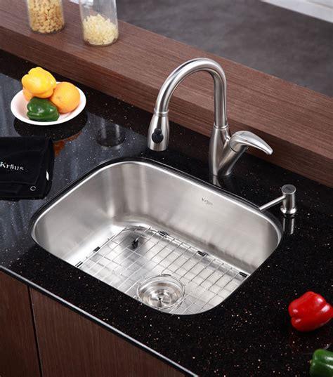 kitchen sink strainer menards kraus kbu12 23 inch undermount single bowl stainless steel