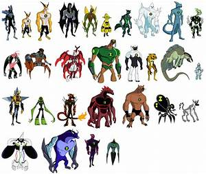 How To Draw Ben 10 Omniverse Aliens Step By Step