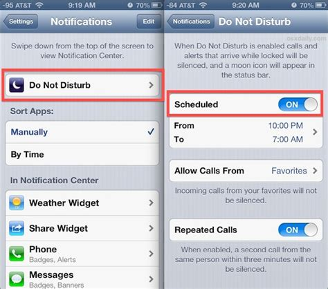 do not disturb iphone text messages set up do not disturb mode on iphone with schedules