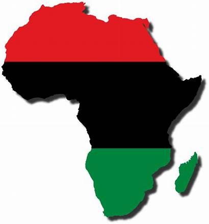 Africa Flag Map African Pan Deviantart South
